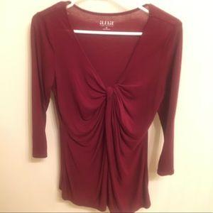 Three quarter sleeve blouse
